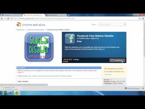 How to get back old style Facebook chat box