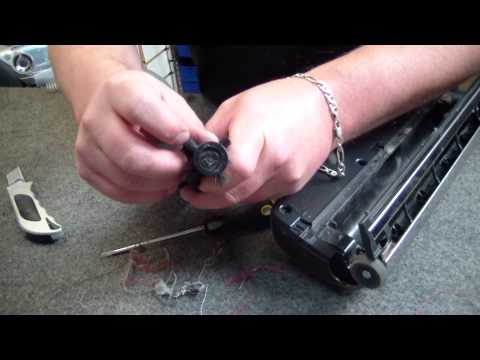 How To Clean The Electrolux Ultra Active ZUA3860P Powerhead Roller