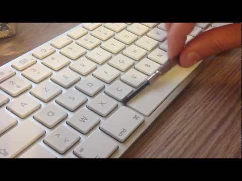 How to fix a broken spacebar on a Mac Keyboard