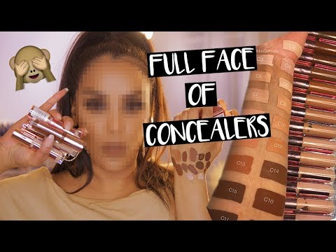 FULL FACE USING ONLY CONCEALERS?! WTF NikkisSecretx