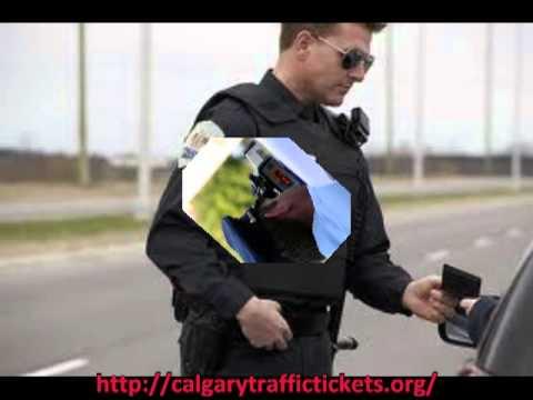 Traffic Tickets In Calgary