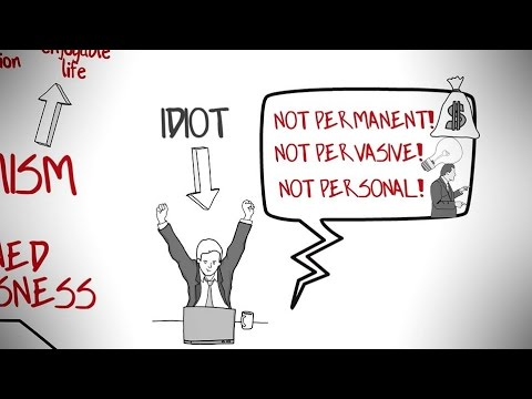 LEARNED OPTIMISM BY MARTIN SELIGMAN   ANIMATED BOOK REVIEW