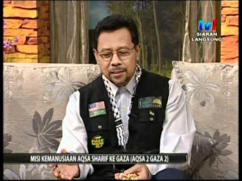 Aqsa Syarif di SPM TV1 - 8 Ogos 2011