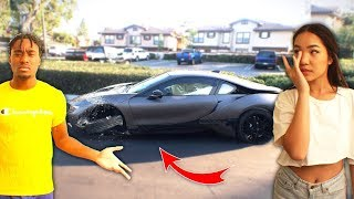 I Let My Crush Drive my BMW i8, THEN SHE DID THIS...