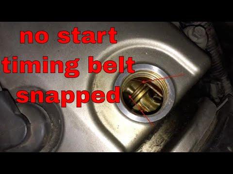 Quick Diagnosis no start timing belt problem HONDA √