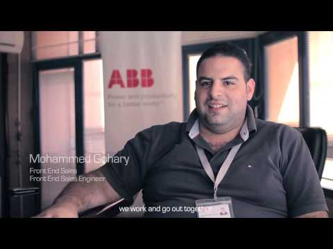 ABB in Egypt employees share their experience within the company