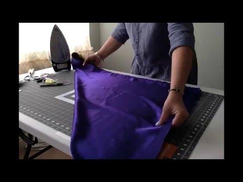 DIY TULL : Long Circle Skirt { 2 Panel Elastic Method }