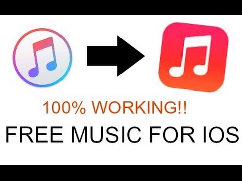 How to get FREE MUSIC onto any IPHONE (IOS) NO JAILBREAK AND OFFLINE LISTENING