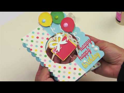 DIY 3D Birthday Card (That Stands!) | Sizzix