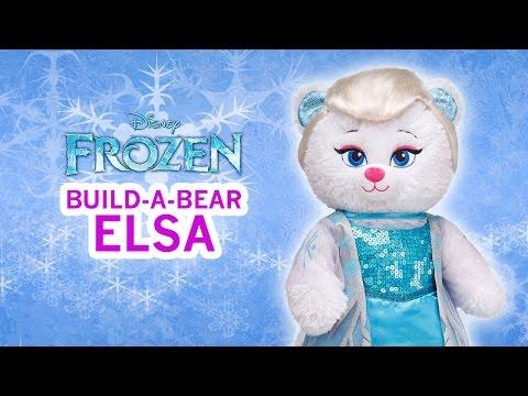 Frozen Elsa Disney Build-A-Bear