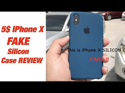 iPhone X $5 Silicone Case || Better Than Apple? unbelievable Quality for a Fake !