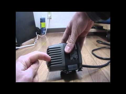 Aquaponics - Tutorial - How To - Water Pump