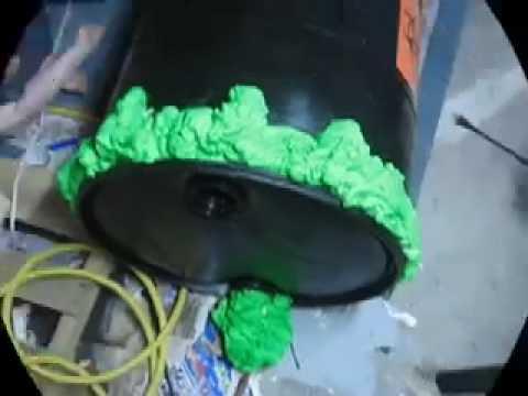 Biohazard Air Cannon Halloween Prop