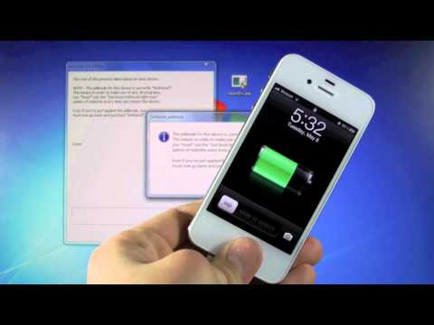 How To Jailbreak 5.1.1 iPhone 4/3Gs iPod 4G/3G & iPad - NEW Redsn0w 0.9.10b8b Semi Untethered