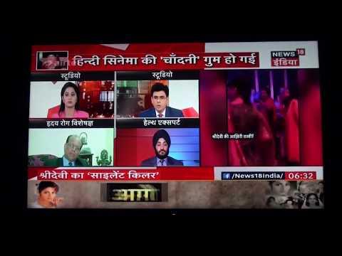 Interview on Cardiac Arrest on Sri Devi's Death