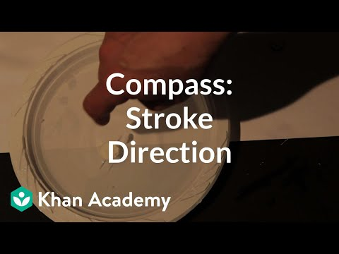 Compass build (stroke direction) | Discoveries and projects | Physics | Khan Academy