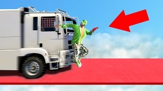 EXTREME MEGA TRUCK DEATHRUN! (GTA 5 Funny Moments)