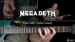 Download Megadeth - Peace Sells Guitar Lesson Video