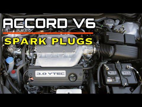 DIY: Acura Honda V6 J Series Spark Plug Replacement - Bundys Garage