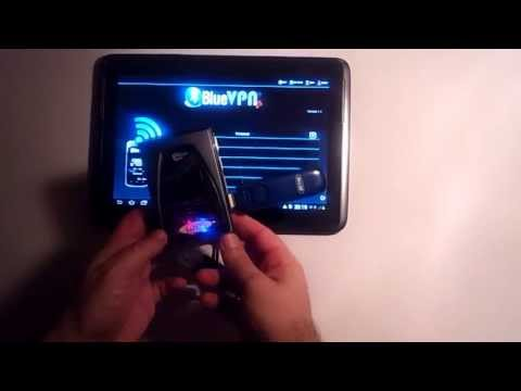 BlueVPN+, connect Samsung Note 10.1 to internet with a USB stick modem 3G