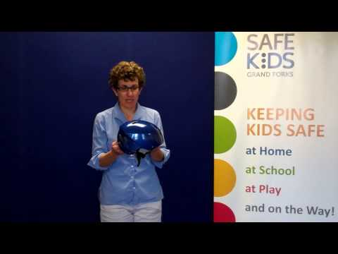 How to fit a bike helmet - Safe Kids Grand Forks
