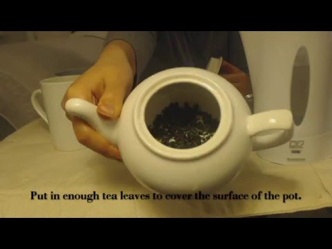 Easy Brewing in a Teapot for Loose Leaf Tea