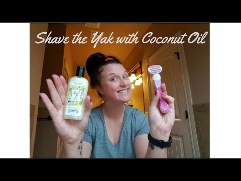 Shave the Yak with Coconut Oil