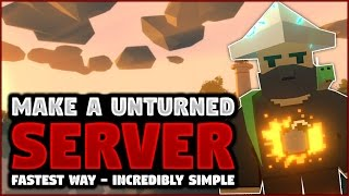 How to make server in unturned | How to enable cheats on an Unturned