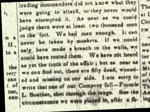 Letters home from Quincy's Civil War soldiers
