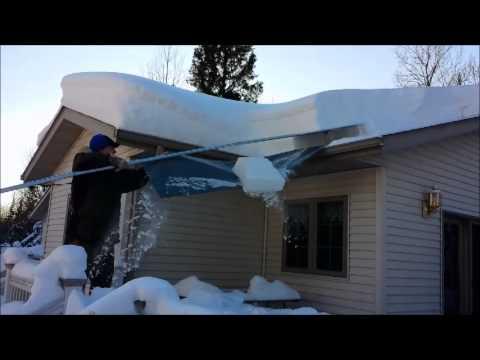 MinnSNOWta Roof Razor Roof Rake Review
