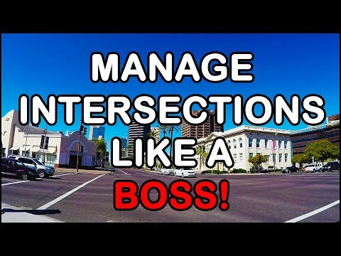 TEAM Arizona Motorcycle Riding Tip: How To Manage Intersections Like A Boss On Your Motorcycle Pt 1