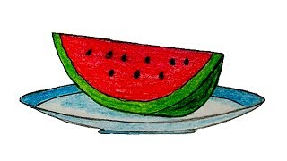 How To Draw Watermelon Videos 9tube Tv