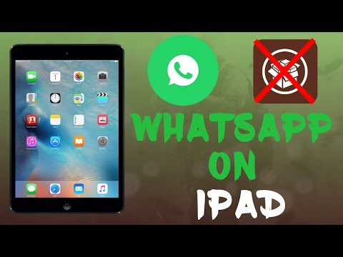 How To Install WhatsApp On iPad or iPod Without Jailbreak On iOS 10 - Easy Method | iOS 9 - 10