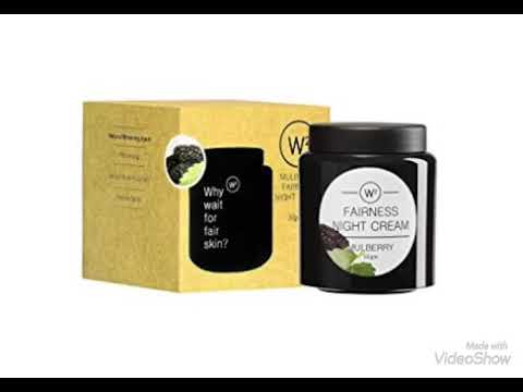W2 Mulberry Fairness Night Cream ||| Review in Tamil