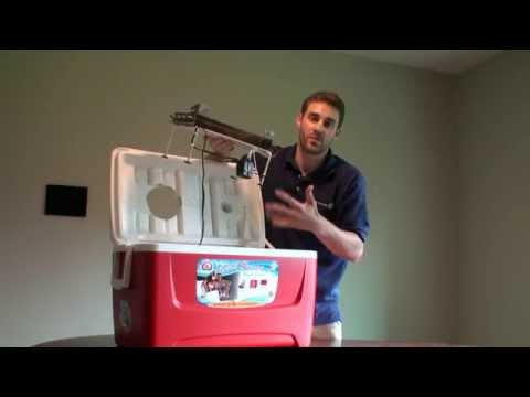 Make a Portable Air Conditioner with Ice, Cheap