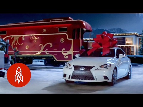 Where the Bows In Holiday Car Commercials Come From