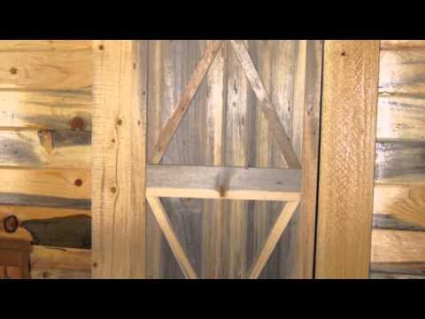 Gibb Smith Blue Stain Pine Door
