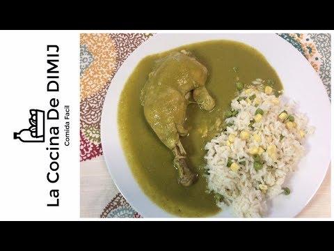 Receta de Mole Verde de Pollo