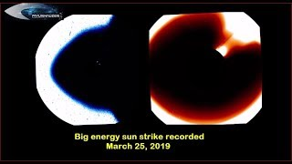 Download Big energy sun strike recorded March 25, 2019 Video