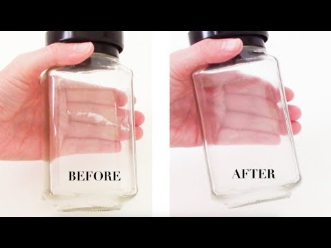 How-To Remove Sticky Label Residue - Naturally! (2 INGREDIENTS!!)