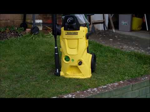 Cleaning Block Paving Easily with a Karcher Power washer
