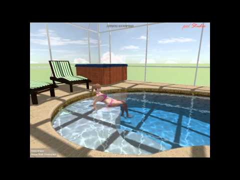 Swimming pool and deck / Kahn Rev 1 Naples Glorida