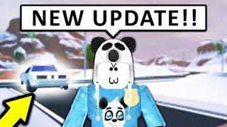 NEW WINTER UPDATE IN JAILBREAK! (Roblox)