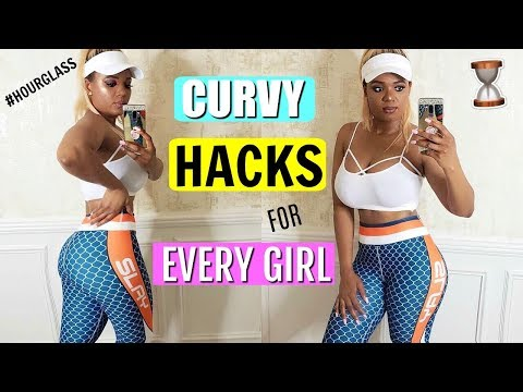 CURVY GIRL LIFE HACKS : HACKS EVERY GIRL MUST KNOW TO INSTANTLY LOOK THINNER & SKINNY | OMABELLETV