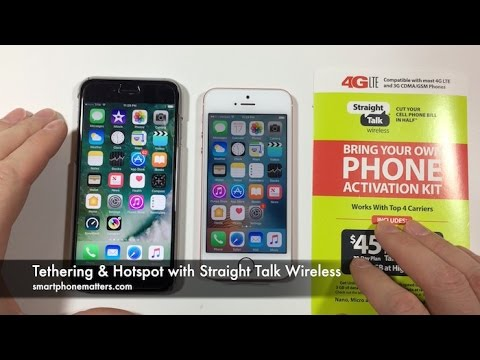 Tethering & Hotspot with Straight Talk Wireless