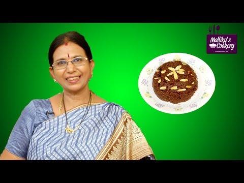 Chocolate Kesari Recipe | Mallika Badrinath | Chocolate Pudding Treat !
