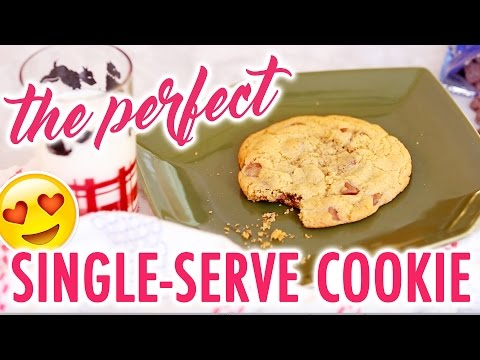 How to Make a Perfect Single-Serve Chocolate Chip Cookie - HGTV Handmade