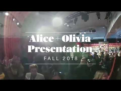 A 360-Degree View of Alice + Olivia's Fall Presentation — Including Paris and Nicky Hilton