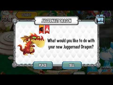 How to breed Juggernaut Dragon 100% Real! Dragon City Mobile! wbangcaHD! [War Dragon]