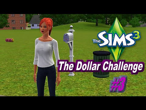 LP The Sims 3 Dollar Challenge P3 - Time to banish some ghost!!!